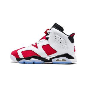 "Air Jordan 6 ""Carmine"" (GS)胭脂白红 2021复刻篮球鞋 384665-106"