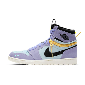 "Air Jordan 1 Switch ""Purple Pulse""紫罗兰 拉链高帮 CW6576-500"