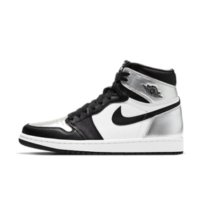 "Air Jordan 1 High OG WMNS ""Silver Toe"" 女款黑银脚趾 CD0461-001"
