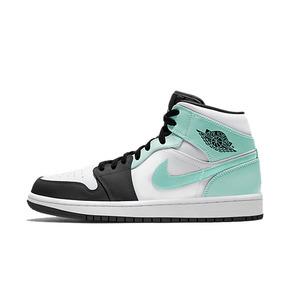 Air Jordan 1 AJ1 蒂芙尼薄荷绿黑绿脚趾白绿 554724-132