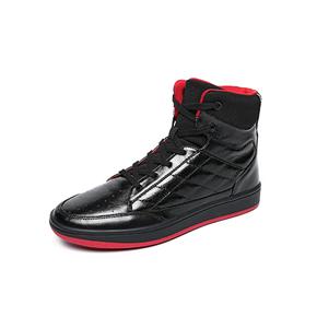 soulsfeng kuji 黑红高帮板鞋 K170113