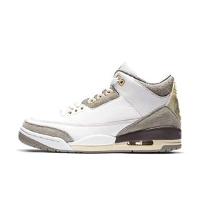 预售!A Ma Maniére x Air Jordan 3米白灰篮球鞋  DH3434-110(2021.4.28发售)