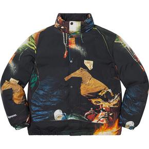 supreme 21ss firecracker 棉服