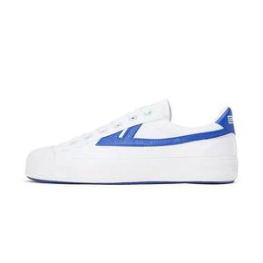 Warrior/回力 2021年新款休闲小白鞋 白蓝