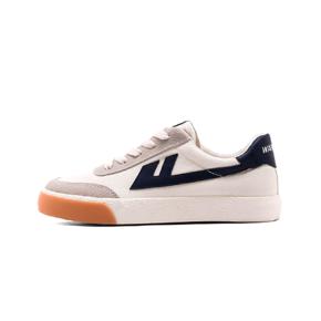 Warrior/回力 2021春季新款小脏橘帆布鞋 米深蓝