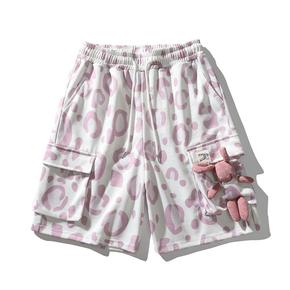 JOESPIRIT 2021春夏新款 back to school回到童年 男士运动短裤 工装裤 男士运动裤 男士裤子 GD103003