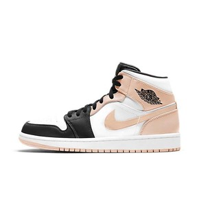 "Air Jordan 1 Mid ""Crimson Tint""黑粉 554724-133"