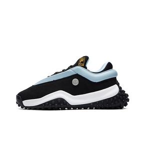 FILA x MIHARA FM7 2021春新款波点女款老爹鞋 黑蓝