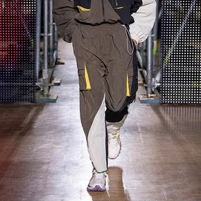 LINING/李宁 巴黎时装周 收口宽松运动裤
