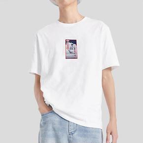 LINING/李宁 梦之队印花白色短袖T恤