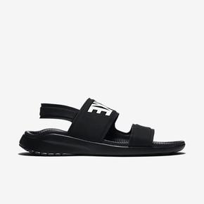 Nike Tanjun Sandal 黑白字母情侣忍者凉拖鞋 882694-001