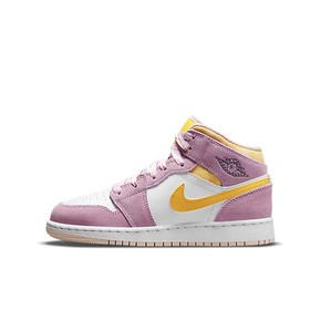 Air Jordan 1 Mid SE (GS)樱花粉  少女粉 DC9517-600