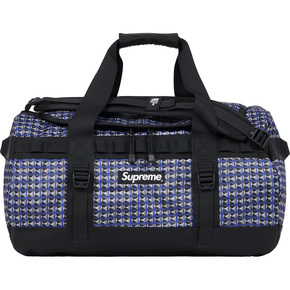 supreme 21ss tnf studded small base camp duffle bag