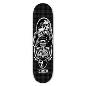 终影骑士骷髅滑板板面