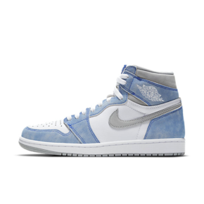 "Air Jordan 1 High OG ""Hyper Royal""水洗白蓝 篮球鞋 555088-402"
