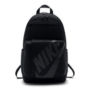 Nike Elmntl Bkpk 大logo 休闲书包双肩包 黑色BA5381-010