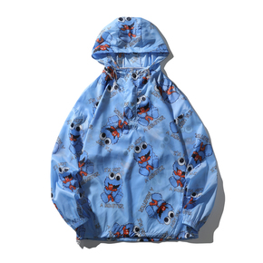 JOESPIRIT 春夏 embrace nature 轻柔极薄 防风 防晒 套头款 皮肤衣 防晒服 夹克 FS103001