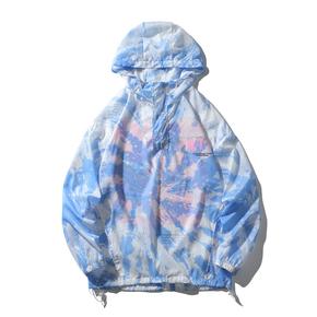 JOESPIRIT 春夏 embrace nature 轻柔极薄 防风 防晒 套头款 皮肤衣 防晒服 夹克 FS103002