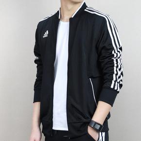 Adidas 2018春季新款运动夹克棒球服外套 CG1819