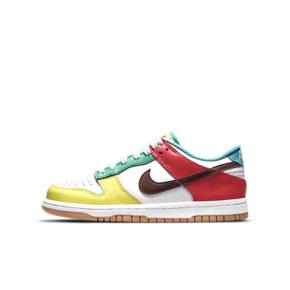 "Nike Dunk Low SE ""Free.99""(GS)不对称鸳鸯 女款彩色拼接 CZ2496-100"
