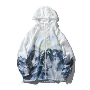 JOESPIRIT 春夏 embrace nature 轻柔极薄 防风 皮肤衣 防晒服 夹克 FS101002