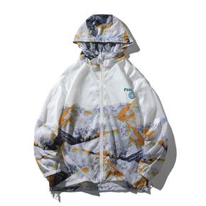 JOESPIRIT 春夏 embrace nature 轻柔极薄 防风 皮肤衣 防晒服 夹克 FS101016