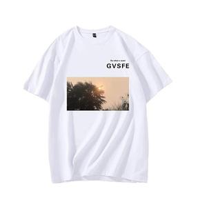 秒杀!GVSFE 日出白色短袖T恤