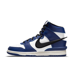 "Ambush x Nike Dunk High ""Deep Royal"" 联名皇家蓝 高帮篮球鞋 CU7544-400"