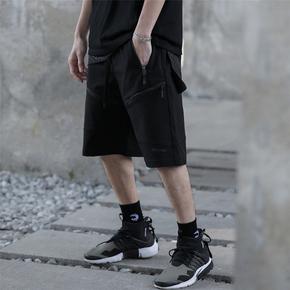 CATSSATC 2020SS 拉链分割线机能短裤