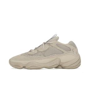 "Adidas Originals Yeezy 500 ""Taupe Light""灰褐色椰子老爹鞋 GX3605 (2021.6.5发售)"