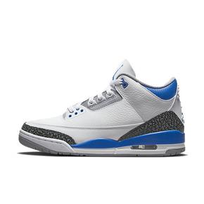预售!Air Jordan 3 AJ3乔3 白蓝大闪电赛车蓝 CT8532-145(2021.7.10发售)