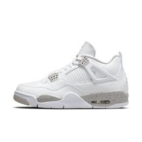 "Air Jordan 4 Retro ""White Oreo"" 白奥利奥 运动篮球鞋 CT8527-100"