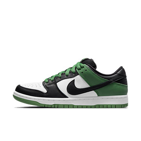 Nike SB Dunk Low 黑绿脚趾 休闲运动板鞋 BQ6817-302