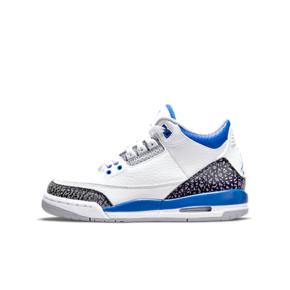 "Air Jordan 3 ""RAcer Blue"" (GS) 赛车蓝 女款篮球鞋 398614-145"