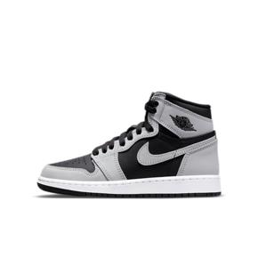 """Air Jordan 1 High OG """"Shadow 2.0""""(GS)影子2.0 女款黑灰篮球鞋 575441-035"""