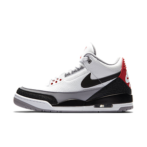 "Air Jordan 3 ""Tinker"" NRG AJ3 手稿 白水泥钩子AQ3835-160(3月24日发售)"