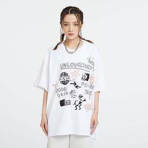 SOSER 2021SS 情侣款涂鸦短袖