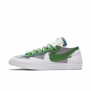 Sacai X Nike Blazer Low 联名解构 白绿低帮DD1877-001