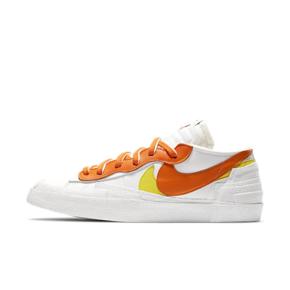 """Sacai X Nike Blazer Low """"Magma Orange""""联名解构 低帮 白橙 DD1877-100"""