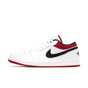 "Air Jordan 1 Low ""Chicago"" 芝加哥 白黑红低帮 553558-118"