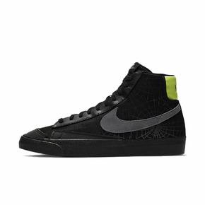 Nike Blazer黑绿黑武士3M反光蜘蛛网高邦板鞋 DC1929-001