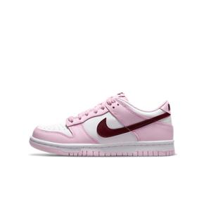 Nike Dunk Low (GS)樱花粉 情人节 女款低帮休闲板鞋 CW1590-601