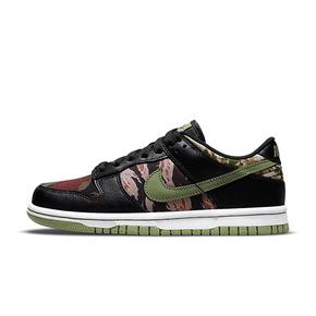"Nike Dunk Low SE""Black Multi- Camo""迷彩黑绿 低帮休闲板鞋 DH0957-001"
