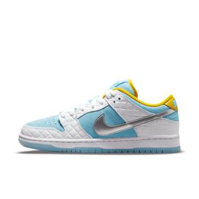 "FTC x Nike SB Dunk Low Pro QS ""Lagoon Pulse"" 联名 白银蓝泡汤低帮板鞋 DH7687-400"