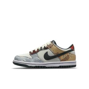 "Nike Dunk Low SE ""Multi-Camo"" (GS)不对称鸳鸯 女款板鞋 DB1909-100"