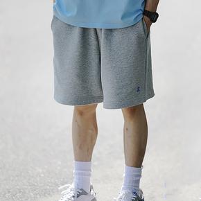 SENDAWAY 纯色宽松休闲短裤青春流行夏季外穿潮流五分裤潮牌百搭
