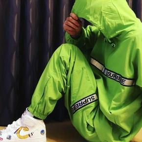 supreme 18春夏 reflective 3m反光工装裤