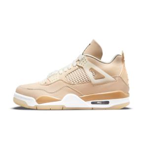 "Air Jordan 4""Shimmer""藕粉色 女款篮球鞋 DJ0675-200"