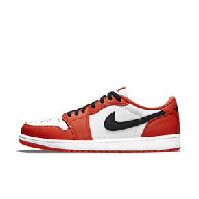 Air Jordan 1 AJ1 白橙白扣碎乔丹低帮休闲鞋 CZ0790-801(2021.8.26发售)