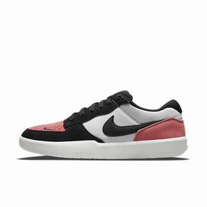 Nike SB 黑白粉翻毛皮低帮运动休闲防滑板鞋 CZ2959-600